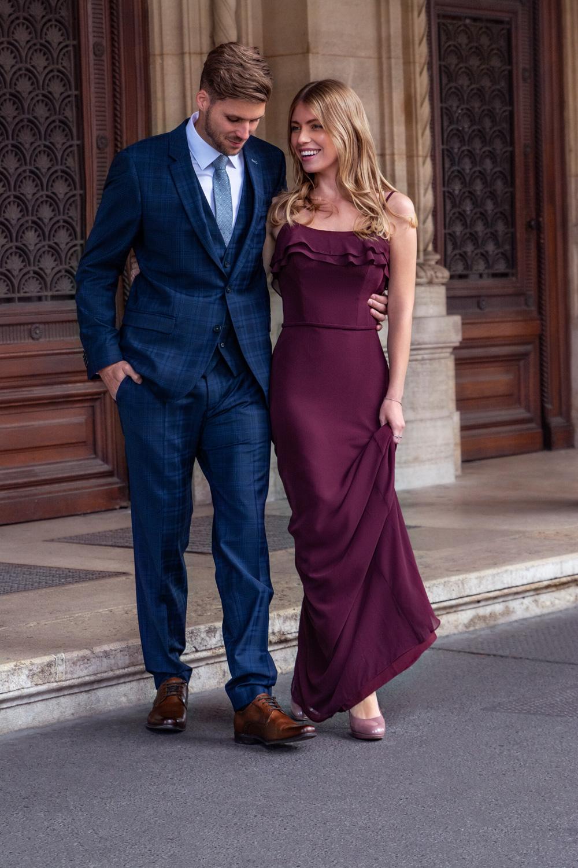 Abendmode - Anzug - Abendkleid - Ballkleid